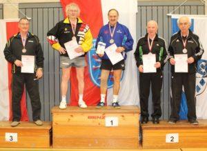 Hessische Einzelmeisterschaften der Senioren Ü70 2013/2014